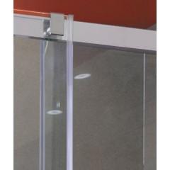 Admiral B2 – Luxusné sprchové dvere zasúvacie 137 – 141 cm, sklo 8 mm