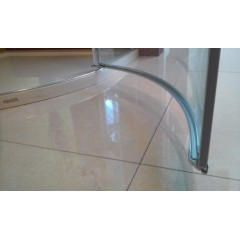 Better S3 90 CHRÓM Sprchová zástena číre sklo 8 mm, 90 × 90 × 195 cm