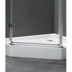Better P3 90 CHRÓM Sprchovací kút, číre sklo 8 mm, 90 × 90 × 195 cm