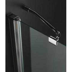 GLASS A1 90 cm CHRÓM Sprchová zástena 90 × 90 × 195 cm