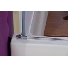 Glass B1 60 sprchové dvere do niky jednokrídlové 56 – 60 cm