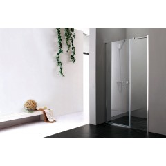 Glass B7 105 CHRÓM Sprchové dvere do niky 102 – 106 cm