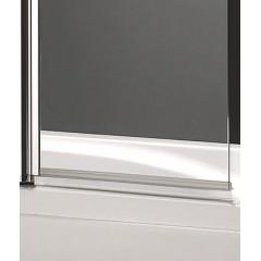 GLASS L2 100 × 140 cm Vaňová zástena dvojdielna