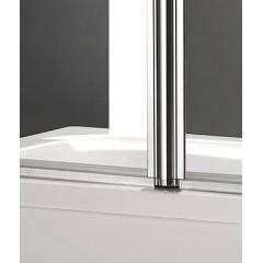 GLASS L22 120 × 140 cm Vaňová zástena dvojdielna