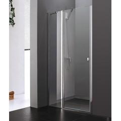 Glass B5 120 CHRÓM Sprchové dvere do niky 117 – 121 cm
