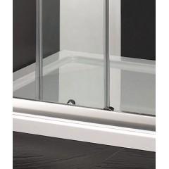Master B2 sprchové dvere do niky zasúvacie 136 – 140 cm