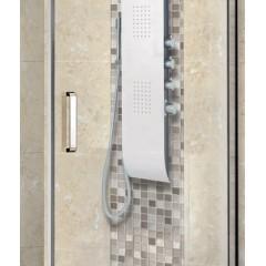 PARTY R11 100 × 80 cm CHRÓM Sprchová zástena číre sklo 8 mm
