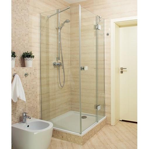 Sprchový kout obdélníkový SMART R13 100x80 cm