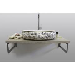 DESIREE keramické umývadlo 60x40x15 cm