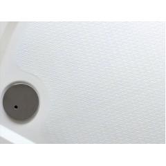 Bent 100 × 80 cm sprchová vanička z liateho mramoru obdĺžniková s protišmykovou úpravou