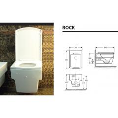 ROCK závěsné WC