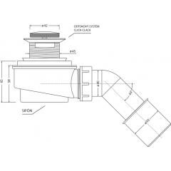 Voľne stojaci akrylátová vaňa MEMPHIS 170x80cm