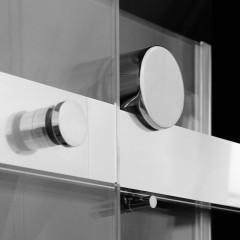Teknosoft B2 115 - Luxusné sprchové dvere zasúvacie 112-116cm, sklo 8mm