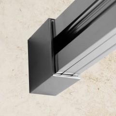 WELLNESS B2 155 Sprchovací dvere zasúvacie 152-156cm, sklo 6mm