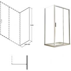 ACTIS bočný panel 90x195 cm