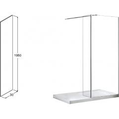 AVEO DUE 30 bočný panel, 30 × 195 cm