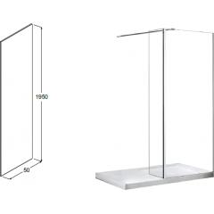 AVEO DUE 50 bočný panel, 50 × 195 cm