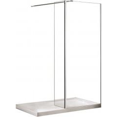 AVEO 100 sprchová zástena WALK IN, 100 – 102,5 cmx195 cm
