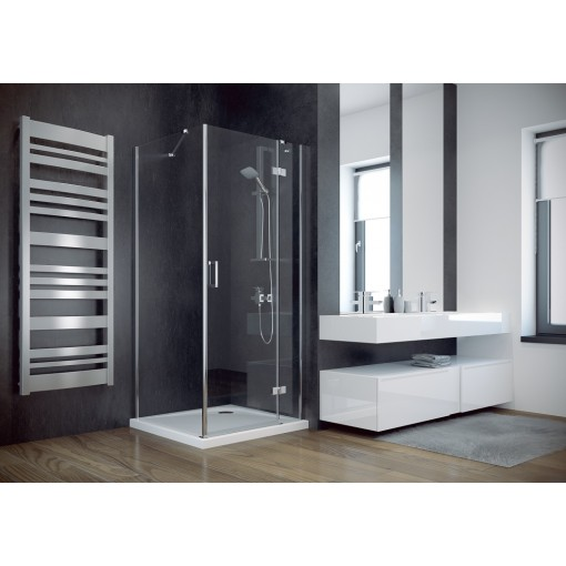VIVA štvorcová sprchová zástena 90x90x195cm, L / P variant