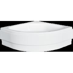 DIPER II štvrťkruhová sprchová vanička 80 × 80 × 15 cm