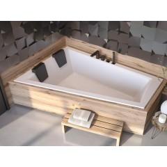 Asymetrická vaňa INTIMA DUO SLIM 170 x 125 cm