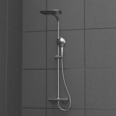 Sprchový set La Palma s termostatickou batériou, chróm