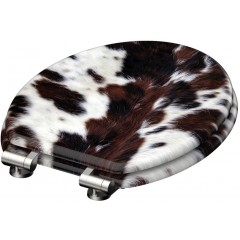 Wc sedátko Cow Skin MDF sa spomaľovacím mechanizmom SOFT-CLOSE