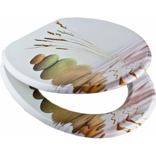 WC sedadlo Balance so spomaľovacím mechanizmom SOFT-CLOSE