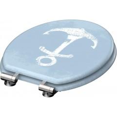 WC sedadlo Marinestyle MDF so spomaľovacím mechanizmom SOFT-CLOSE