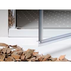 Sprchové dvere PURE 70 jednokrídlové 66-71 x 190 cm