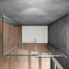 Obdĺžnikový sprchovací kút HARMONY 160x100 cm, L/P variant
