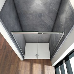 Posuvné sprchové dvere HARMONY B2 155, 151 – 155 × 195 cm L/P variant