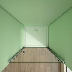 Sprchové dvere MELODY D1 70 jednokrídlové dvere 69 – 72 × 195 cm