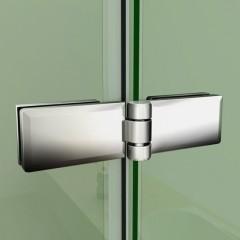 Obdĺžnikový sprchovací kút MELODY R128, 120 × 80 cm so zalamovacími dverami