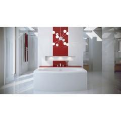 Akrylátová vaňa TELIMENA 180 × 85 cm