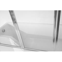 Asymetrická vaňa INTEGRA 150 × 75 cm