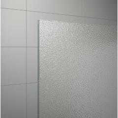 SanSwiss ECOF 0800 01 22 Boční stěna sprchová 80 cm, matný elox/durlux