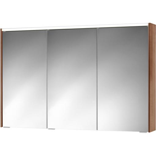 Jokey Plastik SPS-KHX 100 Zrkadlová skrinka – biela/dub, š. 100cm, v. 74cm, hl. 15cm 251013020-0631