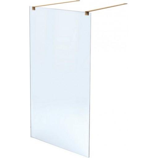 Sprchová zástena WALK IN (rovnoběžná sa zdí) GOLD 80x195cm