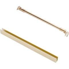 Sprchová zástena WALK IN GOLD 90x195cm