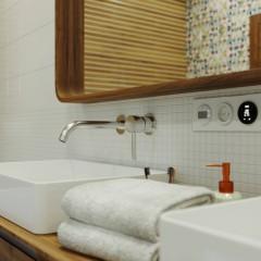 Podomietková umývadlová batéria VENICE, chróm