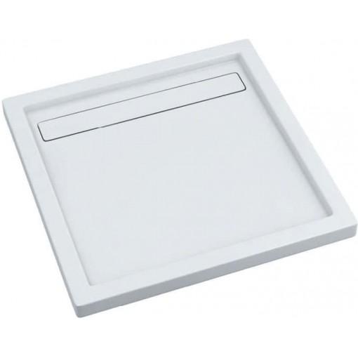 Sprchová vanička akrylátová LISTO, štvorec, 90x90x6,5cm