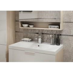 CERSANIT - Konglomerátové nábytkové umývadlo AMAO 80 s otvorom na batériu (K11-0113)