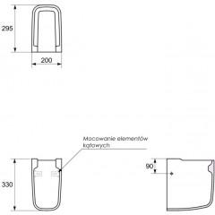 CERSANIT - Polostĺp OLIMPIA K10-006