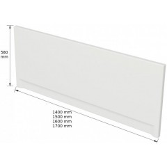 CERSANIT - PANEL K VANI LORENA/ LANA/ NAO/ FLAVIA/ OCTAVIA/ KORAT 150 cm S401-067
