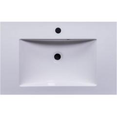 CEDERIKA - SLIM 75 umývadlo z liateho mramoru - BIELE CA.05477