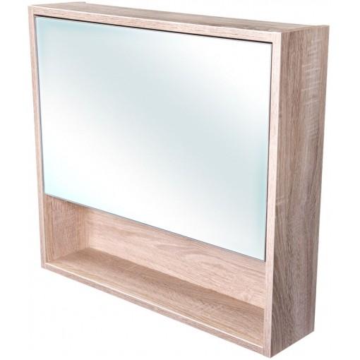 CEDERIKA - Amsterdam galerka 1x výklopné farba zrkadlo v AL ráme korpus korpus Dub bardolino šírka 75 (CA.G1V.194.075)