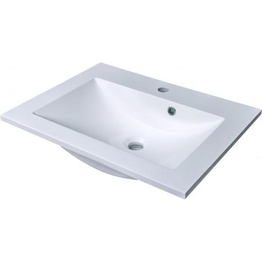 CEDERIKA - SLIM 60 umývadlo z liateho mramoru - BIELE CA.05460