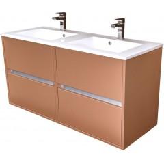 CEDERIKA - Amsterdam umývadlová 2x šuplík farba metallic medený korpus korpus metallic medený šírky 60 (CA.U2B.133.060)