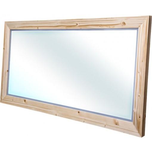 CEDERIKA - Bern zrkadlo masív smrek natur lak šírka 120 (CB.ZR0.101.120)